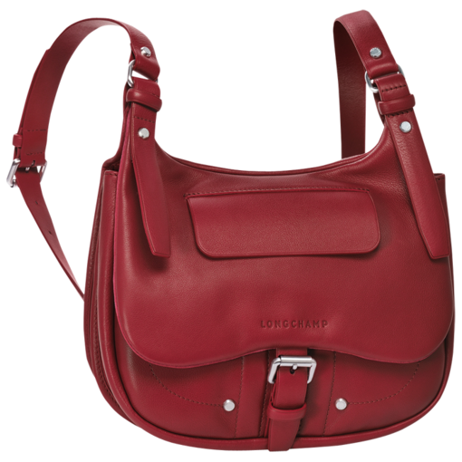 Longchamp Balzane Messenger bag Carmine