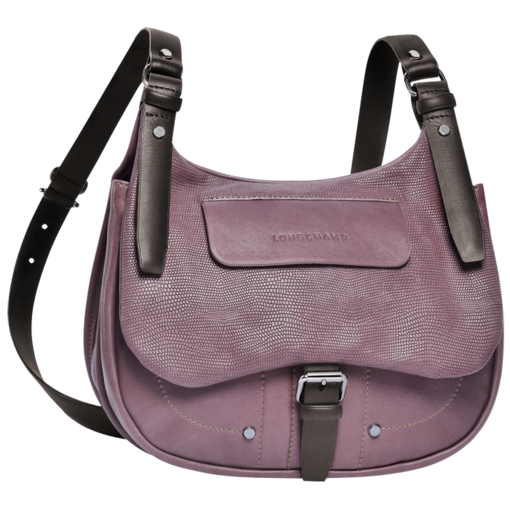 Longchamp Balzane roots Messenger bag Mauve