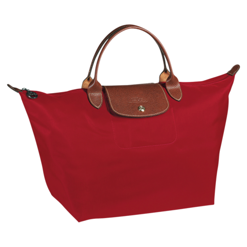 Longchamp Le Pliage Handbag M Red