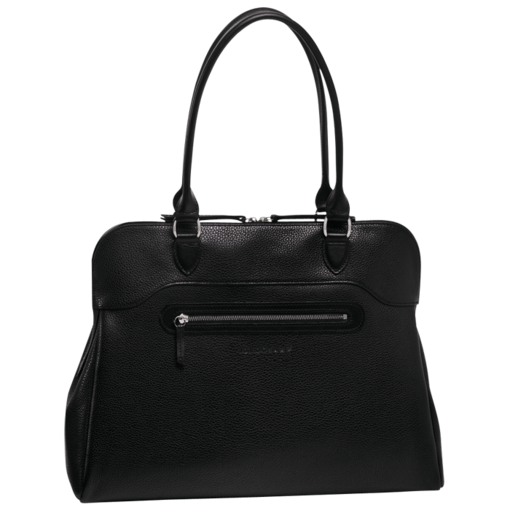 Longchamp Veau Foulonne Tote bag Black/nickelled