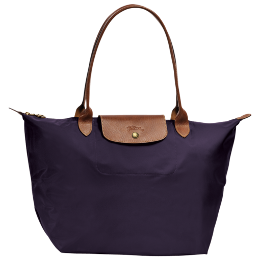 Longchamp Le Pliage Shopping bag L Bilberry