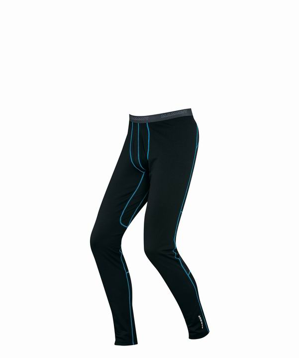 Mammut Men Go Warm Pants Long black-cyan