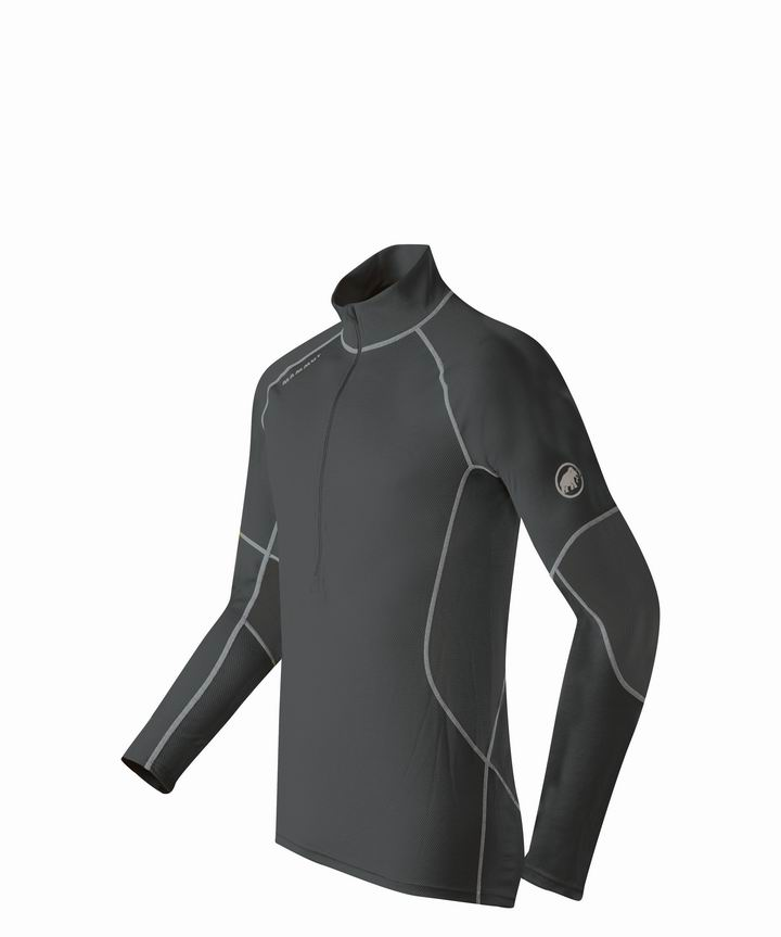 Mammut Men Zip Longsleeve All-Year black