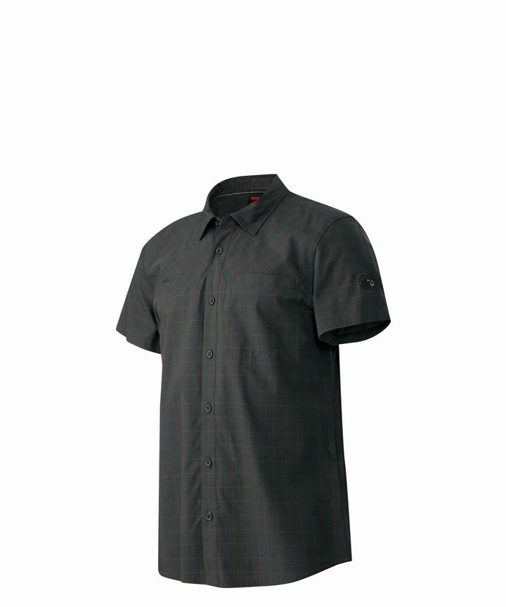 Mammut Men Buckwell Shirt graphite-inferno