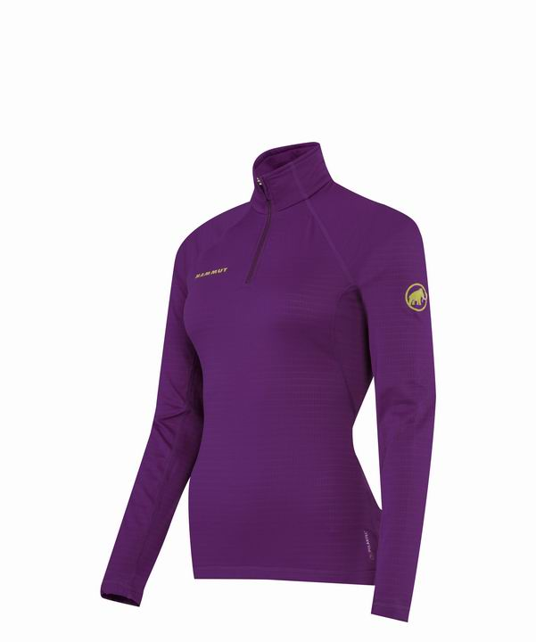 Mammut Women Illiniza Zip Pull dark bloom