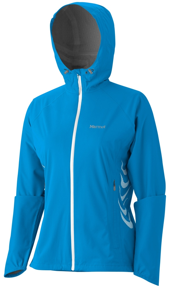Marmot Womens Hyper Jacket Aztec Blue