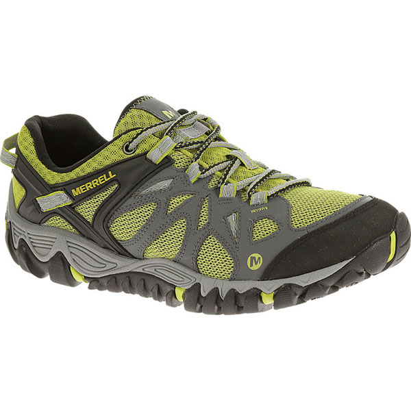 MERRELL MEN'S ALL OUT BLAZE AERO SPORT Castle Rock/Green Oak