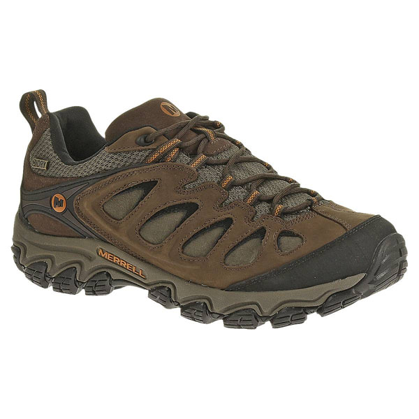 MERRELL MEN'S PULSATE WATERPROOF Black/Bracken