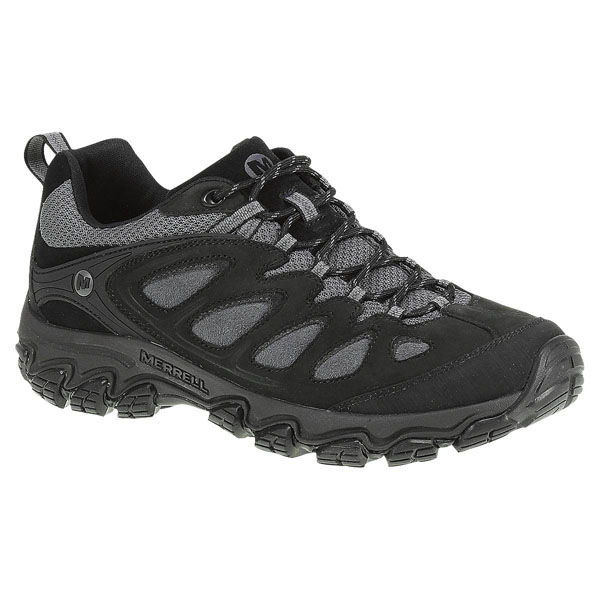 MERRELL MEN'S PULSATE Black/Castle Rock