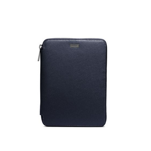 MICHAEL KORS MEN Saffiano Leather Mini Tablet Case For IPad Mini NAVY