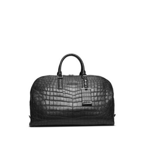 MICHAEL KORS MEN Crocodile Duffel