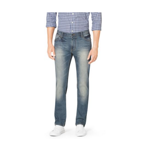 MICHAEL KORS MEN Tailored-Fit Stretch-Denim Jeans VINTAGE WASH