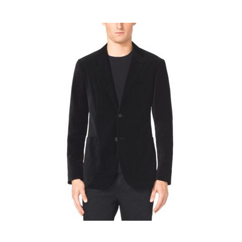MICHAEL KORS MEN Velvet Blazer BLACK