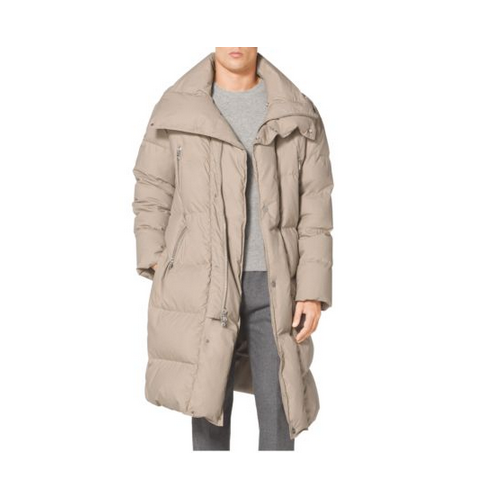 MICHAEL KORS MEN Cotton-Poplin Sleeping Bag Coat CHINO