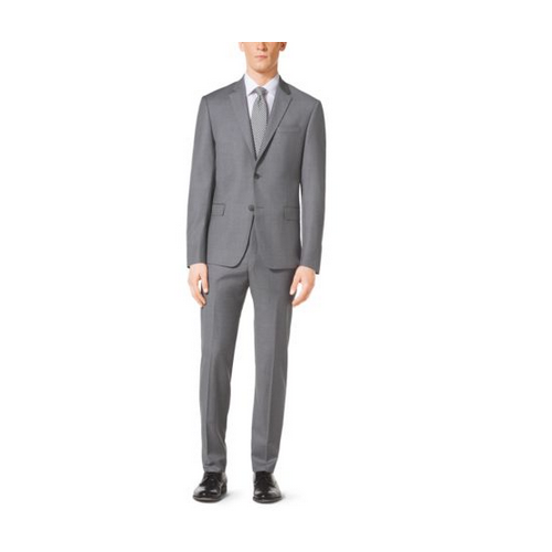 MICHAEL KORS MEN Light Grey Suit PALE GREY