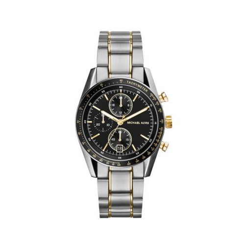 MICHAEL KORS Accelerator Gold And Silver-Tone Watch