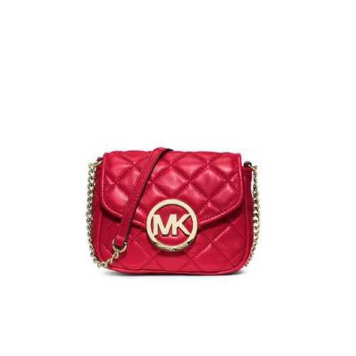 MICHAEL MICHAEL KORS Fulton Quilted-Leather Crossbody