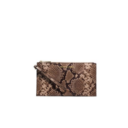 MICHAEL MICHAEL KORS Bedford Large Embossed-Leather Clutch