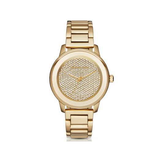 MICHAEL KORS Kinley Pav Gold-Tone Watch