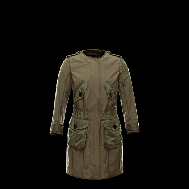 MONCLER WOMEN ESDRA MILITARY GREEN