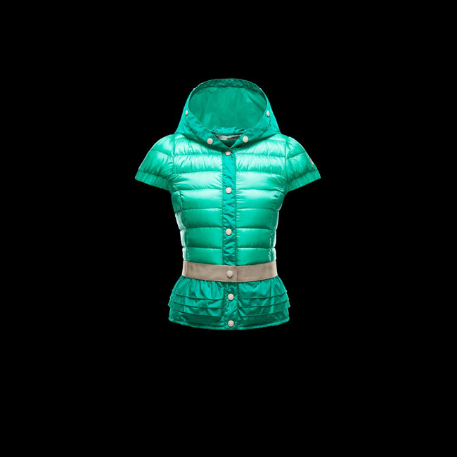 MONCLER WOMEN GRENOBLE HONFLEUR GREEN