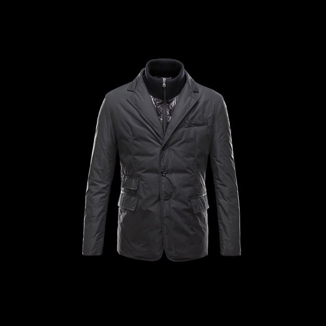 MONCLER MEN ARGENTRE BLACK