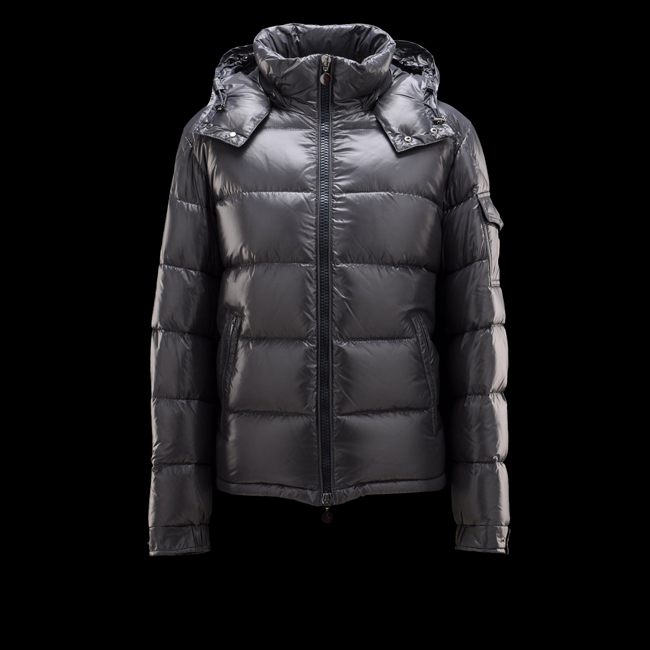 MONCLER MEN Maya STEEL GREY