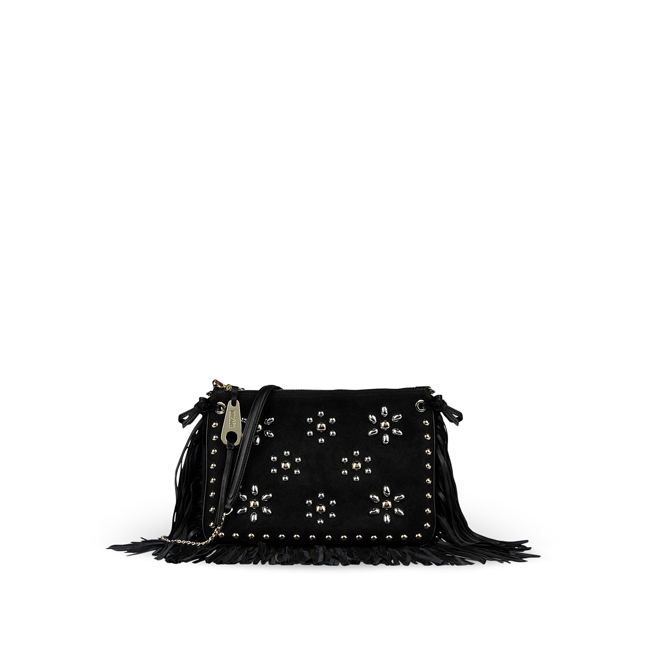 Moschino Cheap and Chic Medium leather bag BLACK