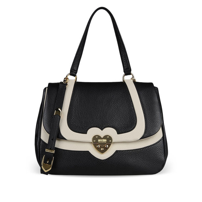 Moschino Cheap and Chic Large leather bag BLACK