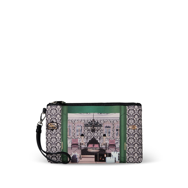 Love Moschino Clutches STEEL GREY