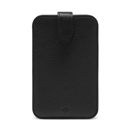 Mulberry Smartphone Cover Black Natural Leather