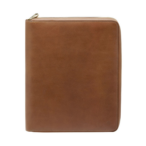 Mulberry Simple Document Folio Oak Natural Leather