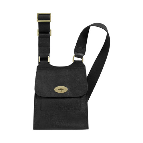 Mulberry Antony Black Natural Leather