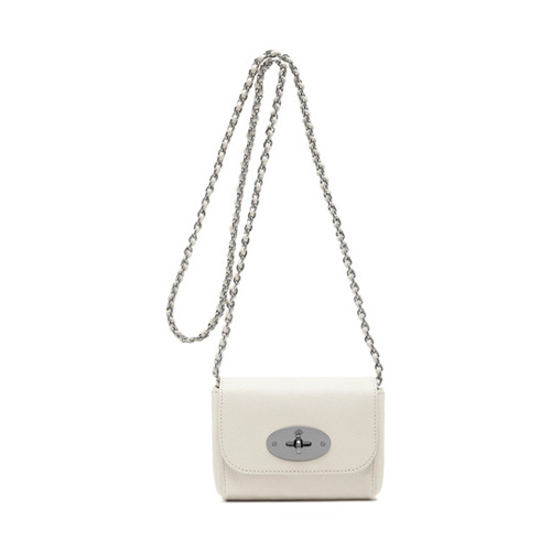 Mulberry Mini Lily Cream Glossy Goat