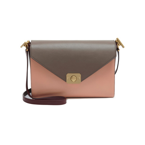 Mulberry Delphie Oxblood, Taupe, Rose, Metallic Goat & Flat Calf
