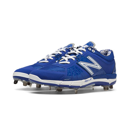 MEN'S New Balance Low-Cut 3000v2 Metal Cleat Blue