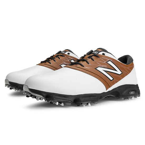 MEN'S New Balance Golf 2001 White with Brown