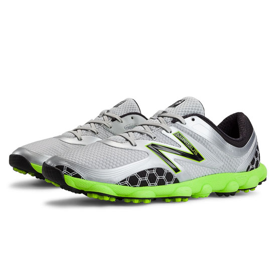MEN'S New Balance Minimus Sport Golf Light Grey with Lime Green & Black