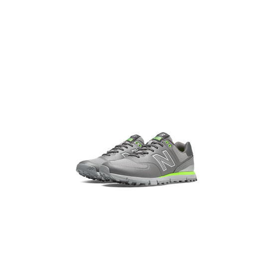 MEN'S New Balance Golf 574 Grey with Lime Green
