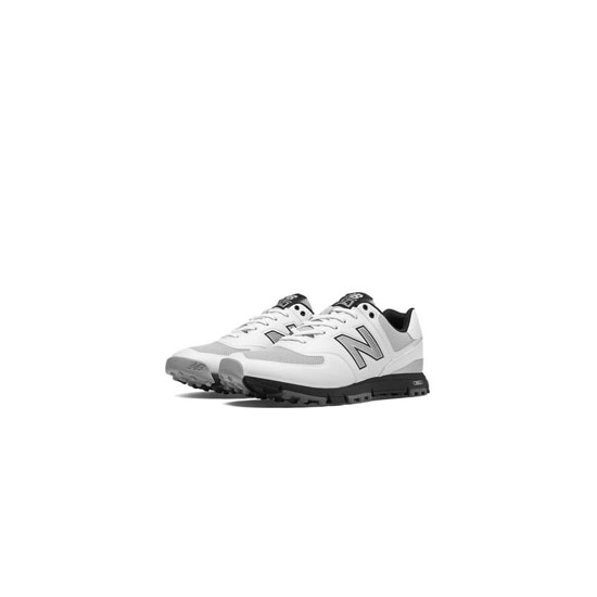 MEN'S New Balance Golf 574 White with Grey