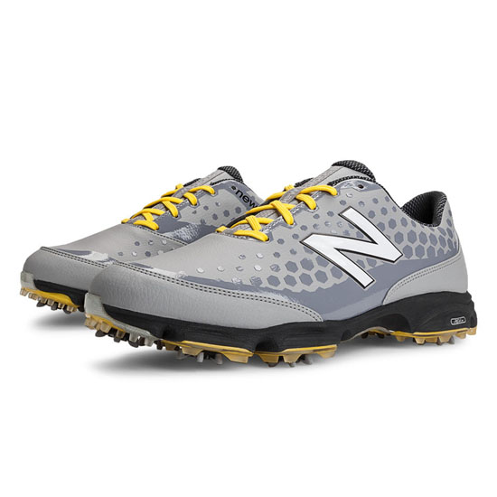 MEN'S New Balance Golf 2002 Grey with White & Yellow
