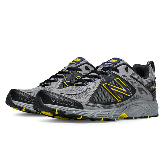 MEN'S New Balance 510v2 Grey with Yellow & Dark Grey