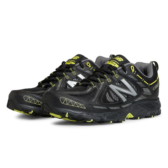 MEN'S New Balance 510v2 Black with Yellow