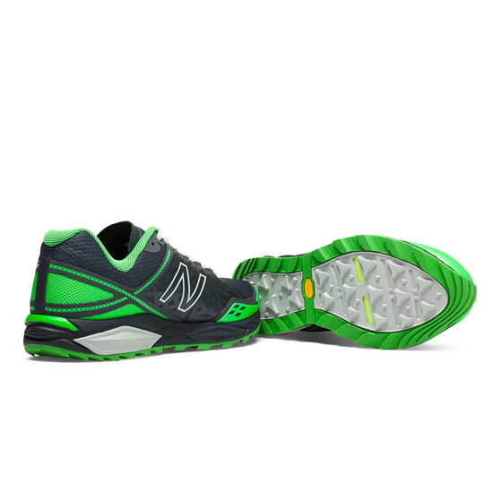 MEN\'S New Balance Leadville 1210v2 Orca with Acidic Green & Concrete
