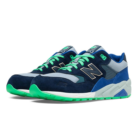 MEN'S New Balance Elite Urban Exploration 580 Navy with Blue Bell & Blue