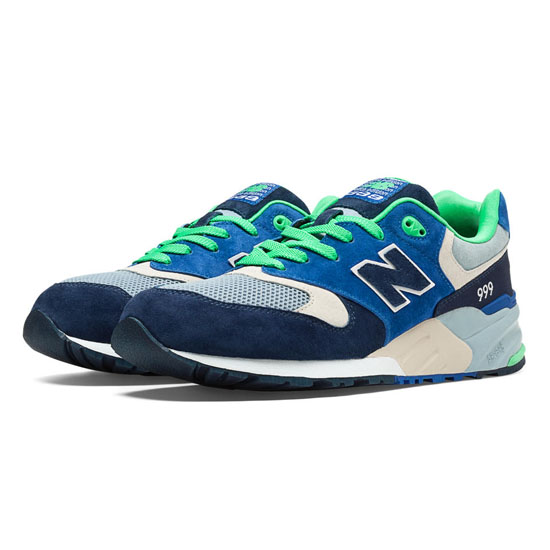 MEN'S New Balance Elite Urban Exploration 999 Blue with Navy & Light Grey