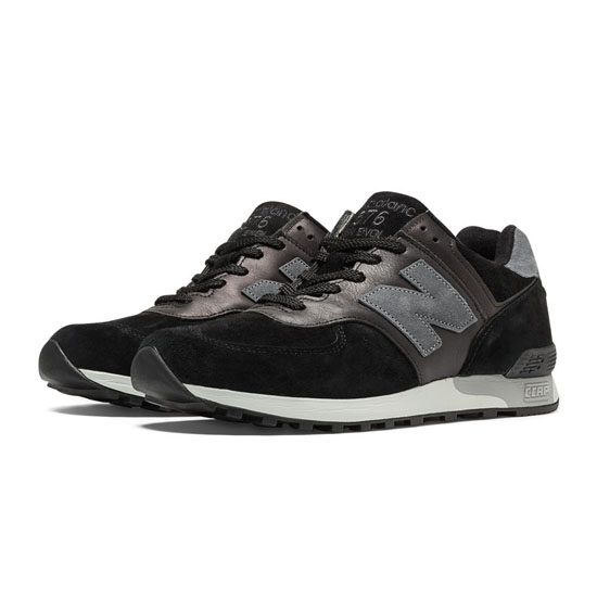 MEN'S New Balance Made in UK 577 Black with Grey