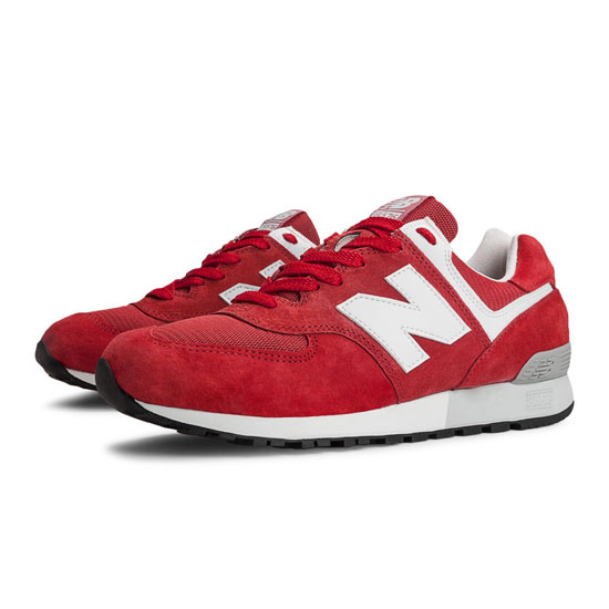MEN'S New Balance 576 Red with White