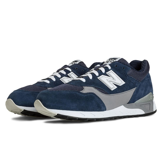 MEN'S New Balance 496 Navy with Grey