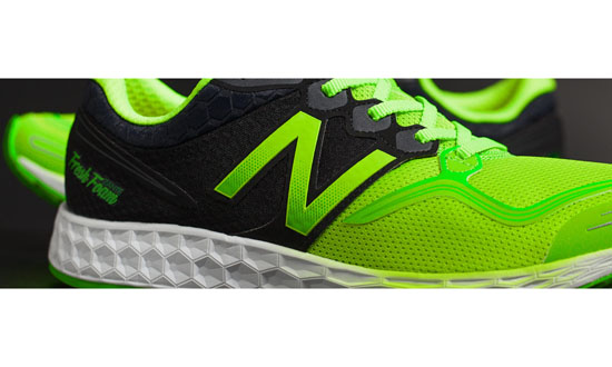 MEN'S New Balance Fresh Foam Zante Lime Green with Black